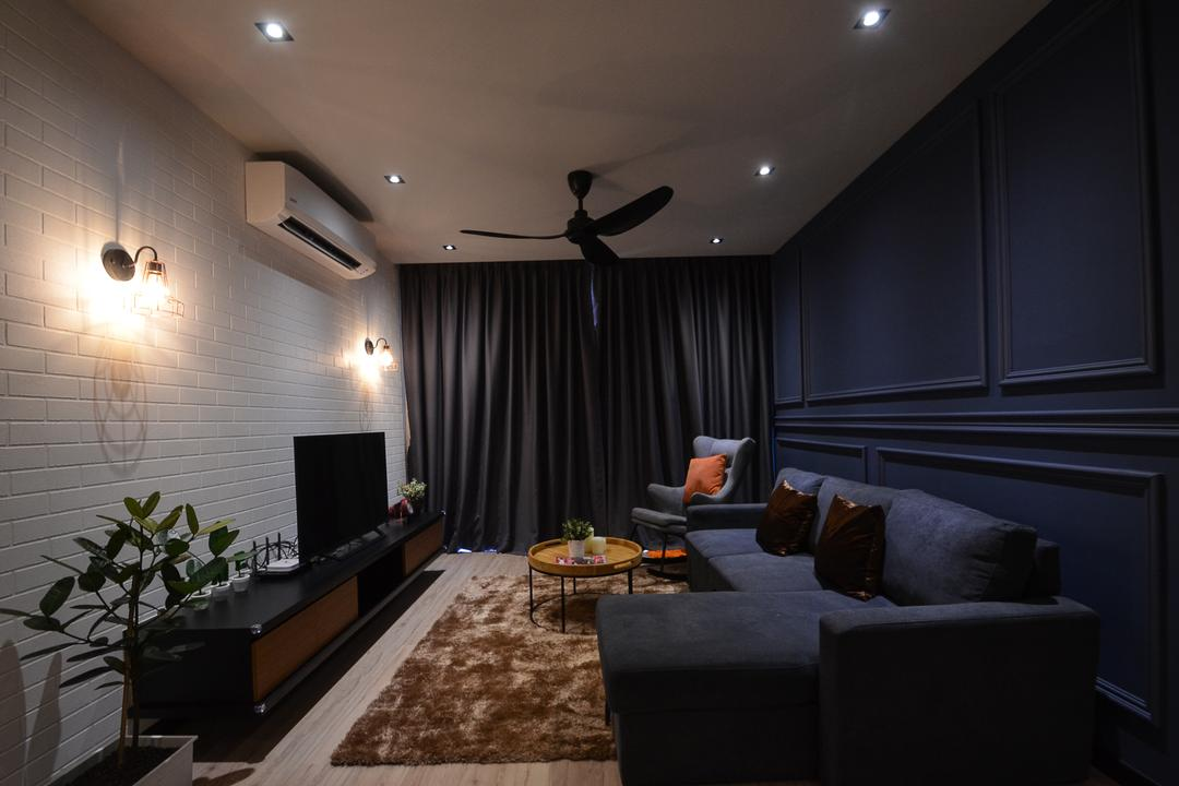 Aurora Residence, Puchong by RK Interior Studio