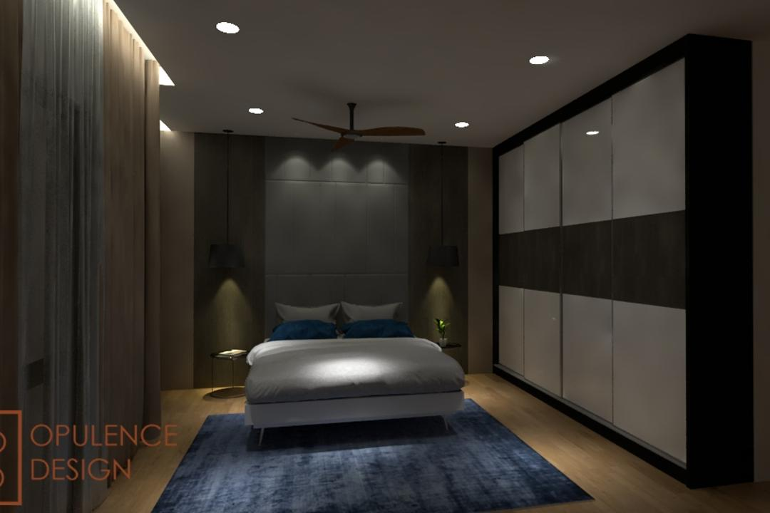 Condo, Petaling Jaya, Opulence Design, Condo, Closet, Furniture, Wardrobe