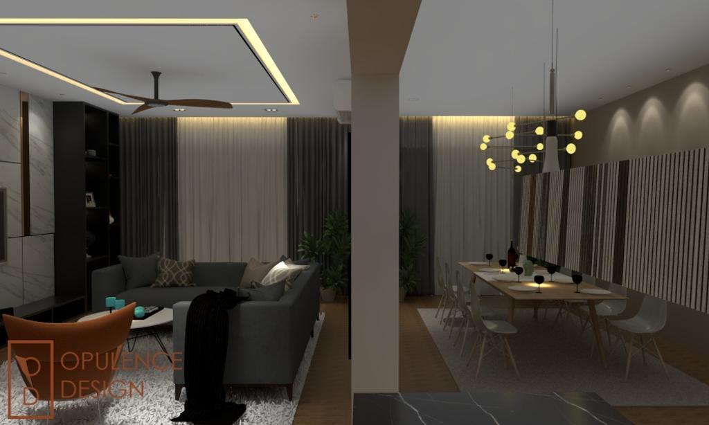 Condo, Condo, Petaling Jaya, Interior Designer, Opulence Design, Chair, Furniture, Couch, Dining Table, Table, Indoors, Interior Design