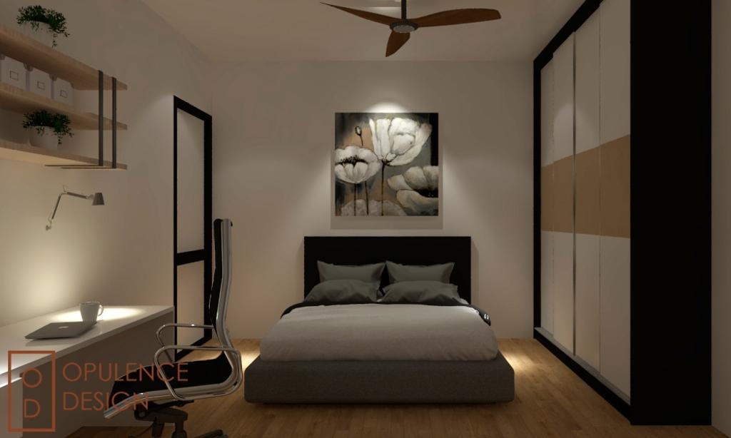 Condo, Condo, Petaling Jaya, Interior Designer, Opulence Design, Banister, Handrail, Indoors, Interior Design, Art, Modern Art, Bedroom, Room