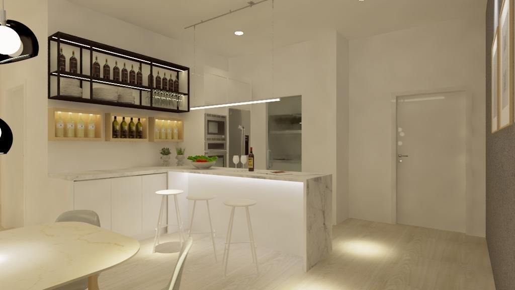Condo, Potpourri Residences, KL, Interior Designer, Opulence Design, Flooring
