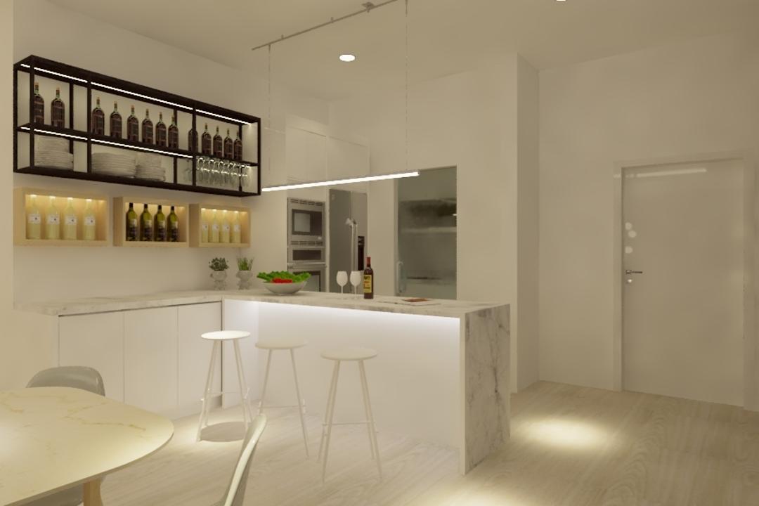 Potpourri Residences, KL, Opulence Design, Condo, Flooring