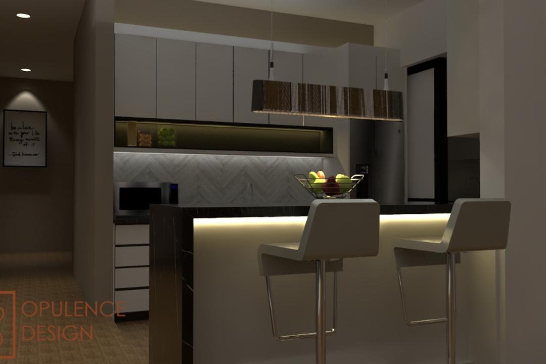 Condo, Petaling Jaya, Opulence Design, Condo, Chair, Furniture, Flooring