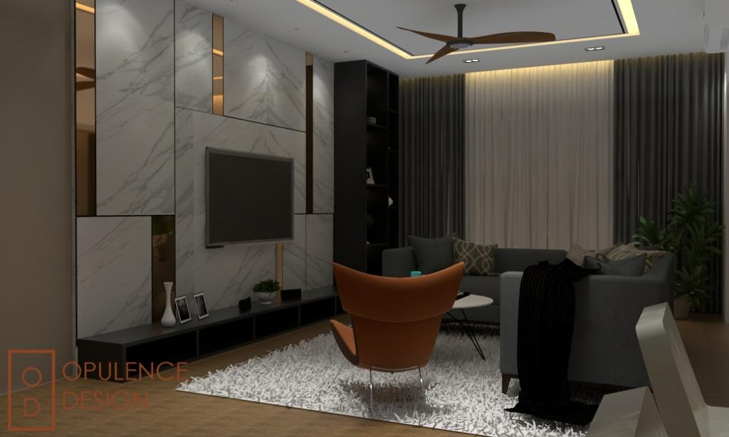 Condo, Condo, Petaling Jaya, Interior Designer, Opulence Design, Chair, Furniture, Apartment, Building, Housing, Indoors, Loft, Couch, Flora, Jar, Plant, Potted Plant, Pottery, Vase