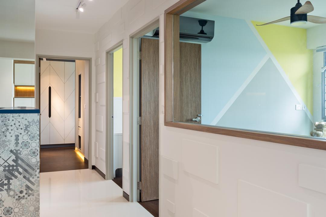 Edgedale Plains, ELPIS Interior Design, Contemporary, HDB, White Board