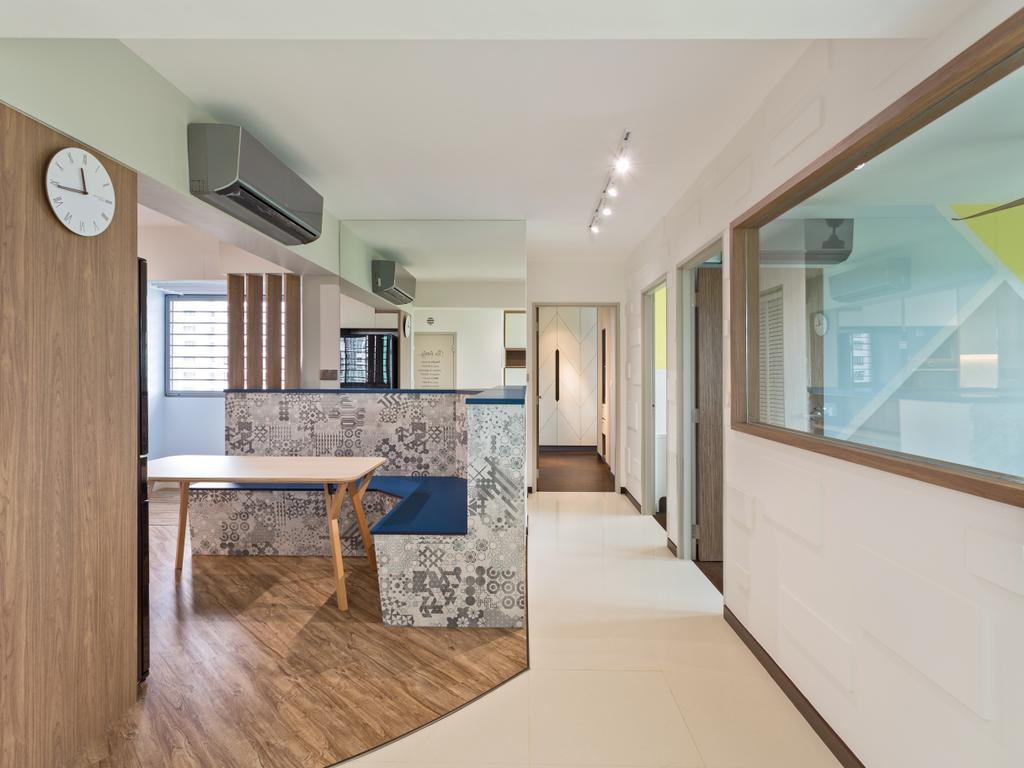 Contemporary, HDB, Edgedale Plains, Interior Designer, ELPIS Interior Design