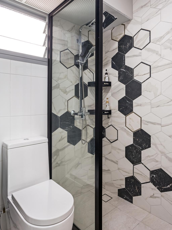 Contemporary, HDB, Bathroom, Edgedale Plains, Interior Designer, ELPIS Interior Design, Indoors, Interior Design, Room