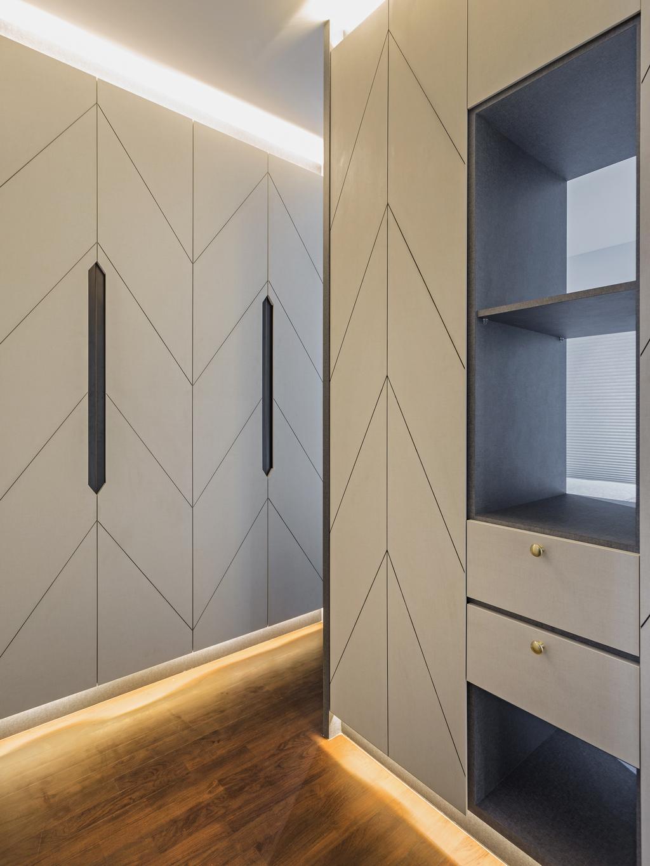 Contemporary, HDB, Edgedale Plains, Interior Designer, ELPIS Interior Design, Door, Sliding Door