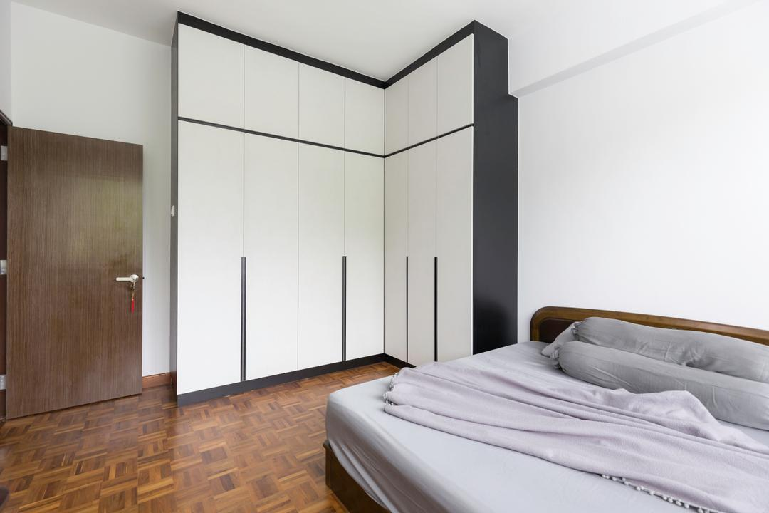 Upper Bukit Timah View, MET Interior, Modern, Condo, Bed, Furniture, Closet, Wardrobe, Home Decor, Linen