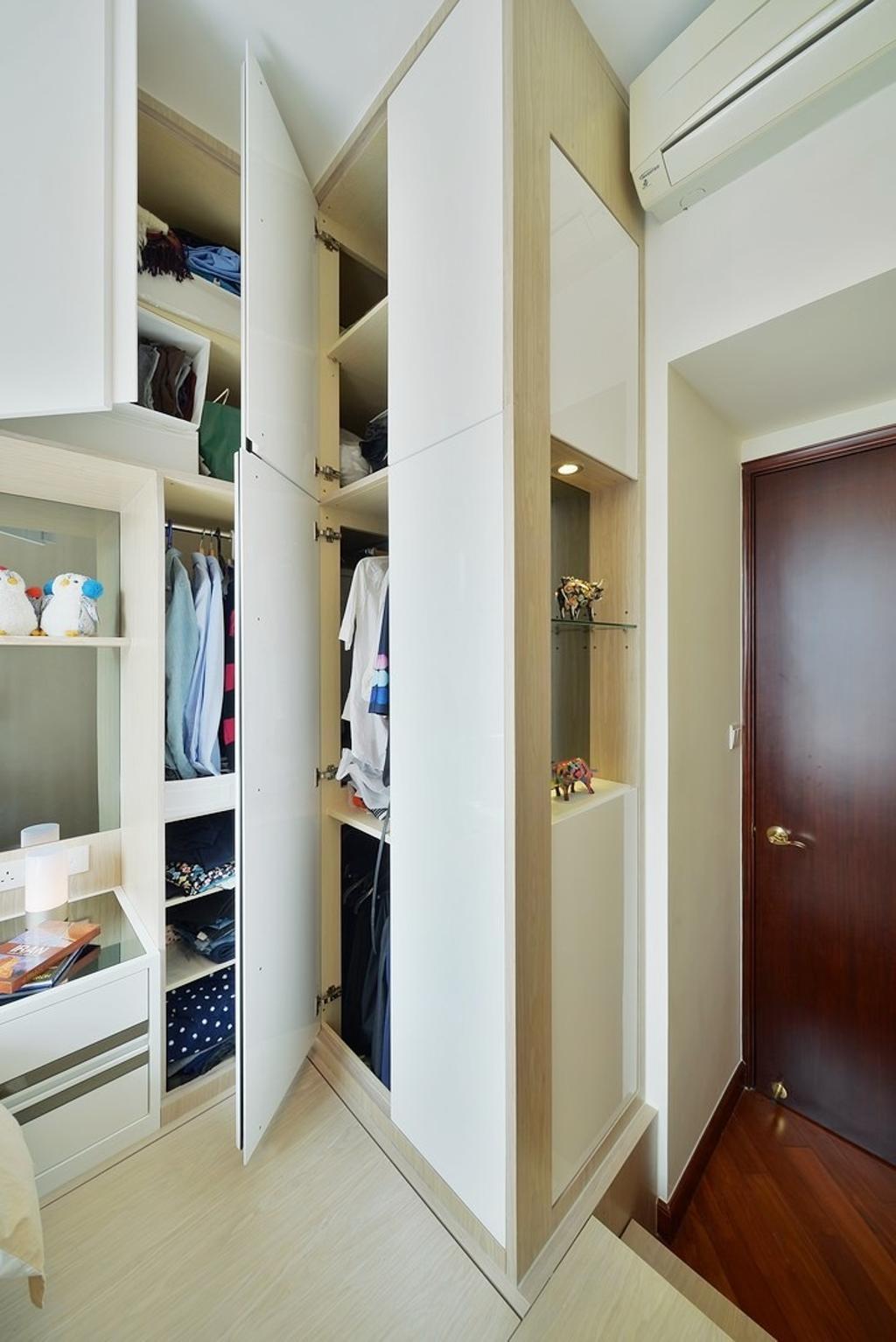 摩登, 私家樓, 帝峰.皇殿, 室內設計師, Art Deco Design, Closet, Furniture, Wardrobe