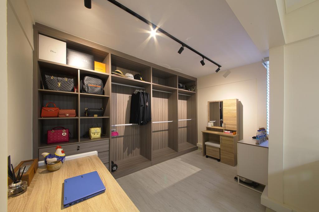 Scandinavian, HDB, Bedok, Interior Designer, Dap Atelier, Flooring, Indoors, Interior Design