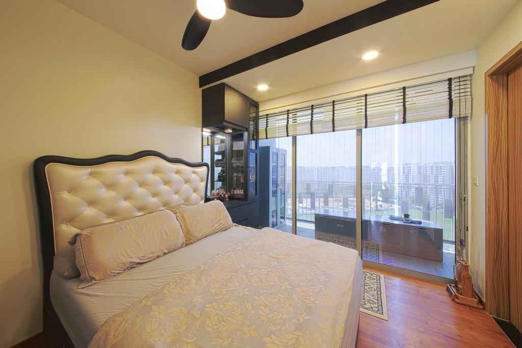 Modern, Condo, Bedroom, Flo Residence, Interior Designer, Dap Atelier, Indoors, Interior Design, Room