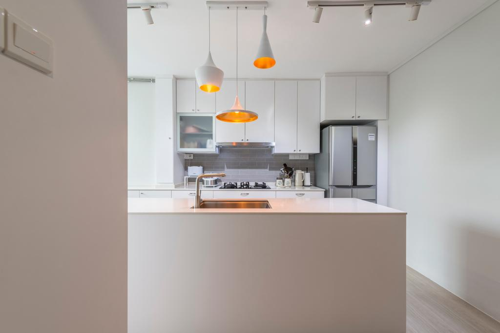Scandinavian, HDB, Kitchen, Jalan Rajah, Interior Designer, Fifth Avenue Interior