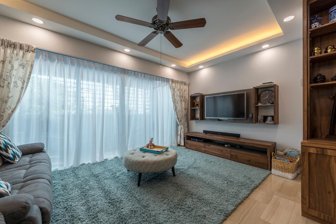 Jalan Rajah, Fifth Avenue Interior, Scandinavian, Living Room, HDB, Bedroom, Indoors, Interior Design, Room, Home Decor, Linen, Tablecloth
