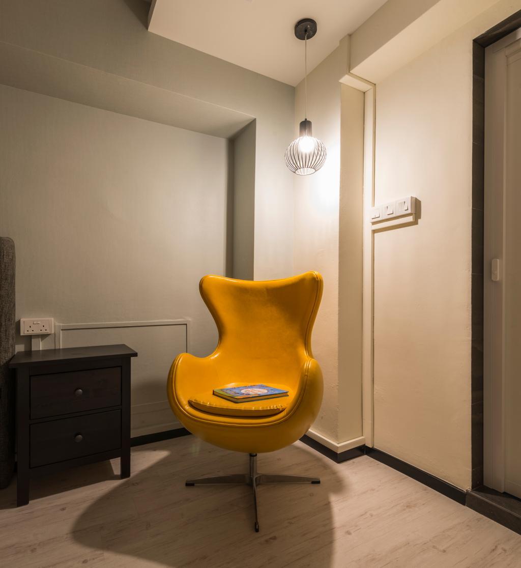 Modern, HDB, Woodlands Avenue 6, Interior Designer, Fifth Avenue Interior, Contemporary, Chair, Furniture