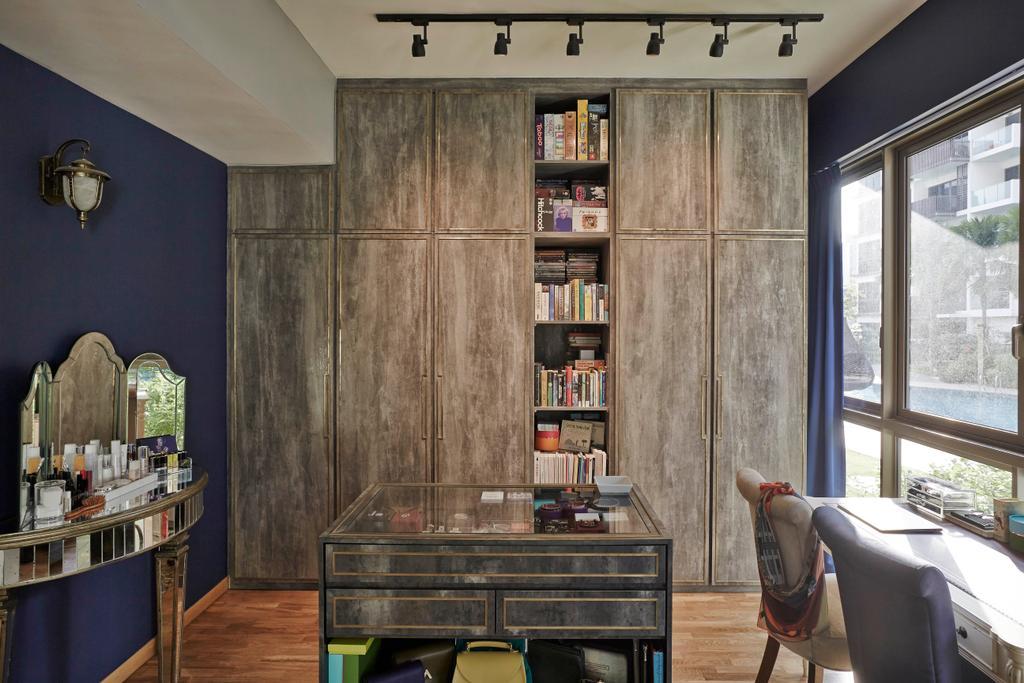 Eclectic, Condo, Study, The Inflora, Interior Designer, Fuse Concept, Indoors, Room