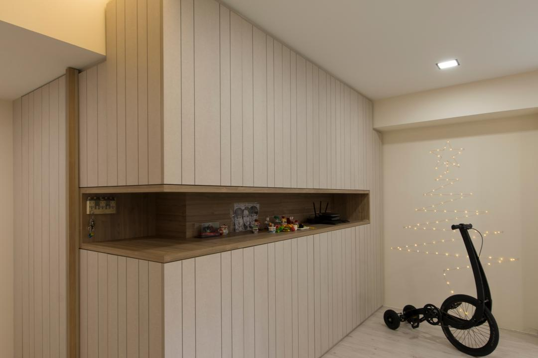 Boon Lay Drive, Forefront Interior, Contemporary, HDB, Bicycle, Bike, Transportation, Vehicle