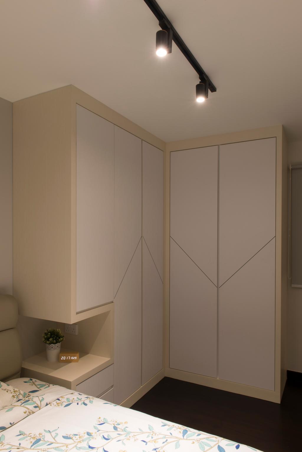 HDB, Bedroom, Bukit Batok Street 22, Interior Designer, Forefront Interior