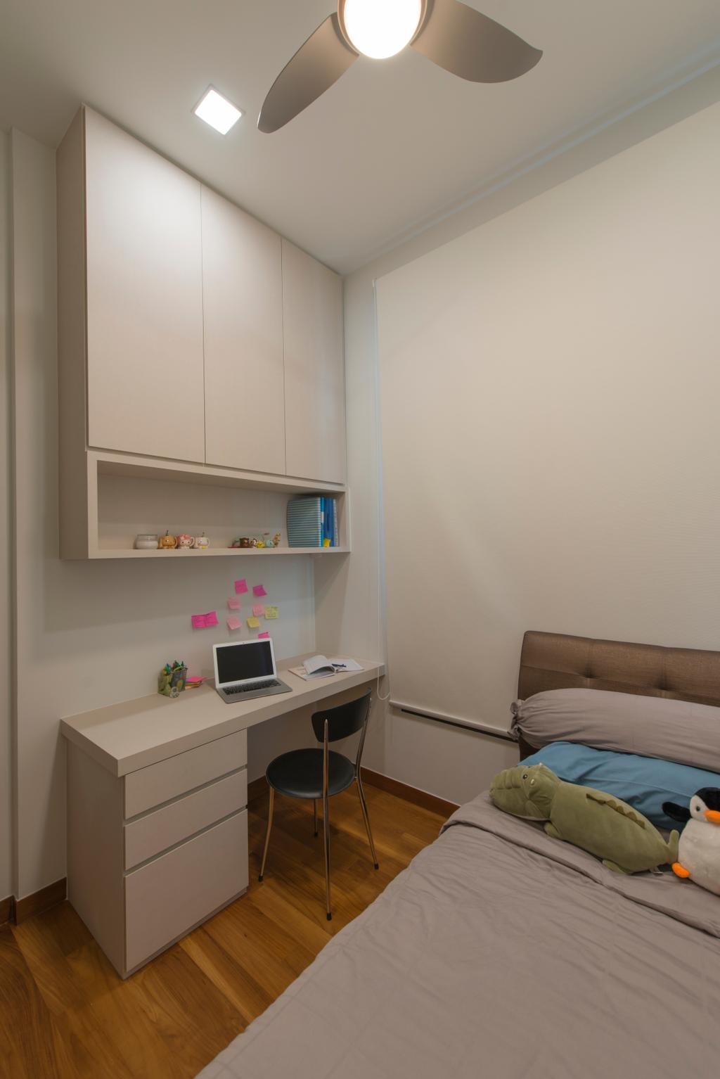 Modern, Condo, Eco Sanctuary, Interior Designer, Forefront Interior, Shelf, HDB, Building, Housing, Indoors