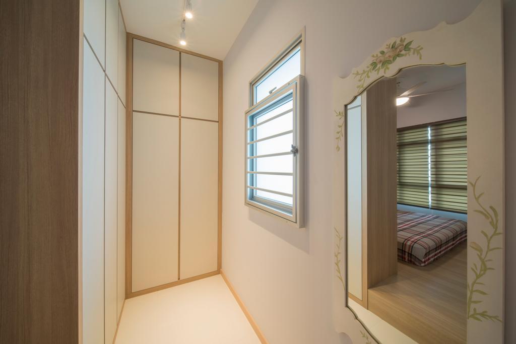 Modern, HDB, Ghim Moh Link, Interior Designer, Forefront Interior, Architecture, Building, Skylight, Window, Bed, Furniture
