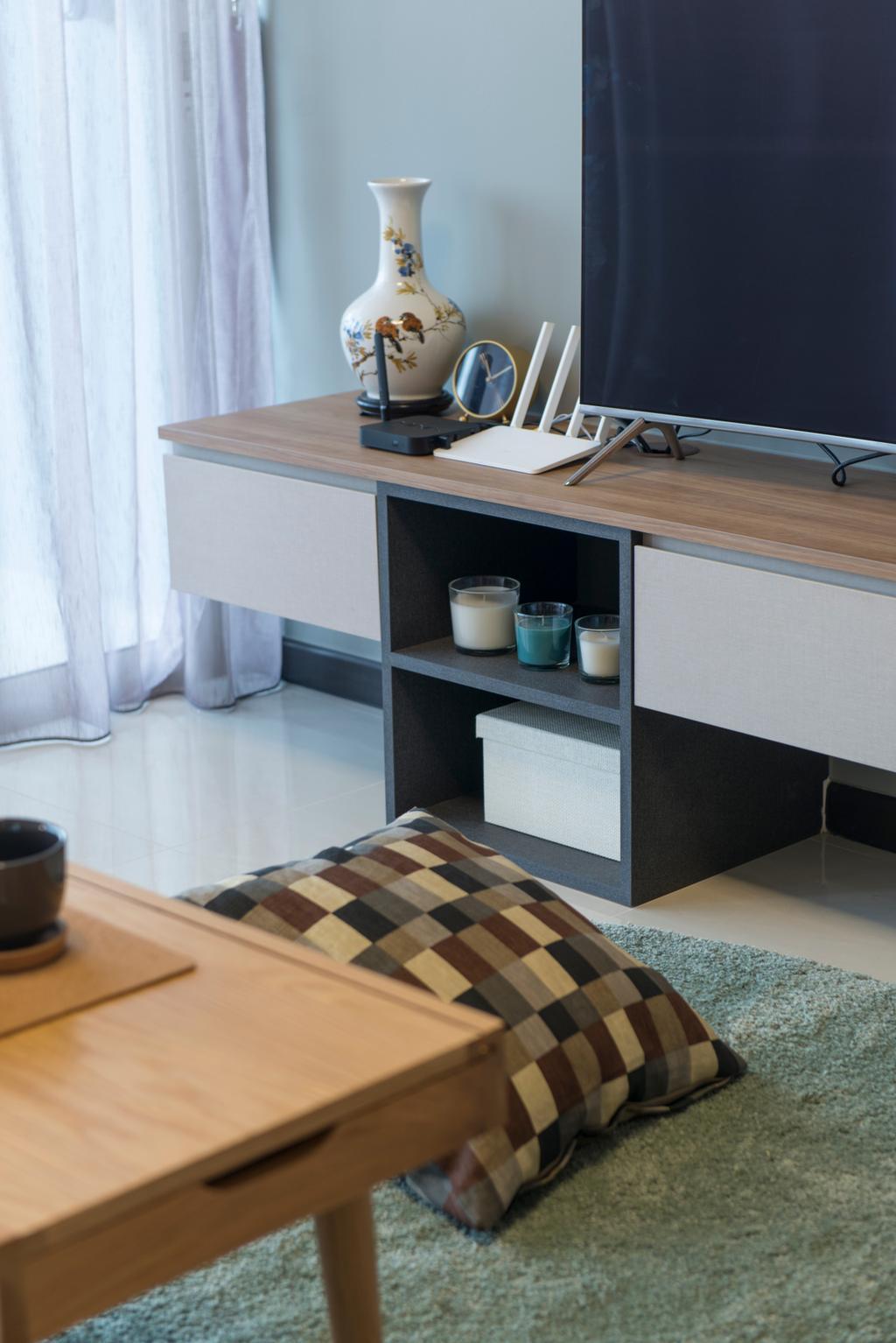 Scandinavian, Condo, Lake Life, Interior Designer, Forefront Interior, Shelf, Box