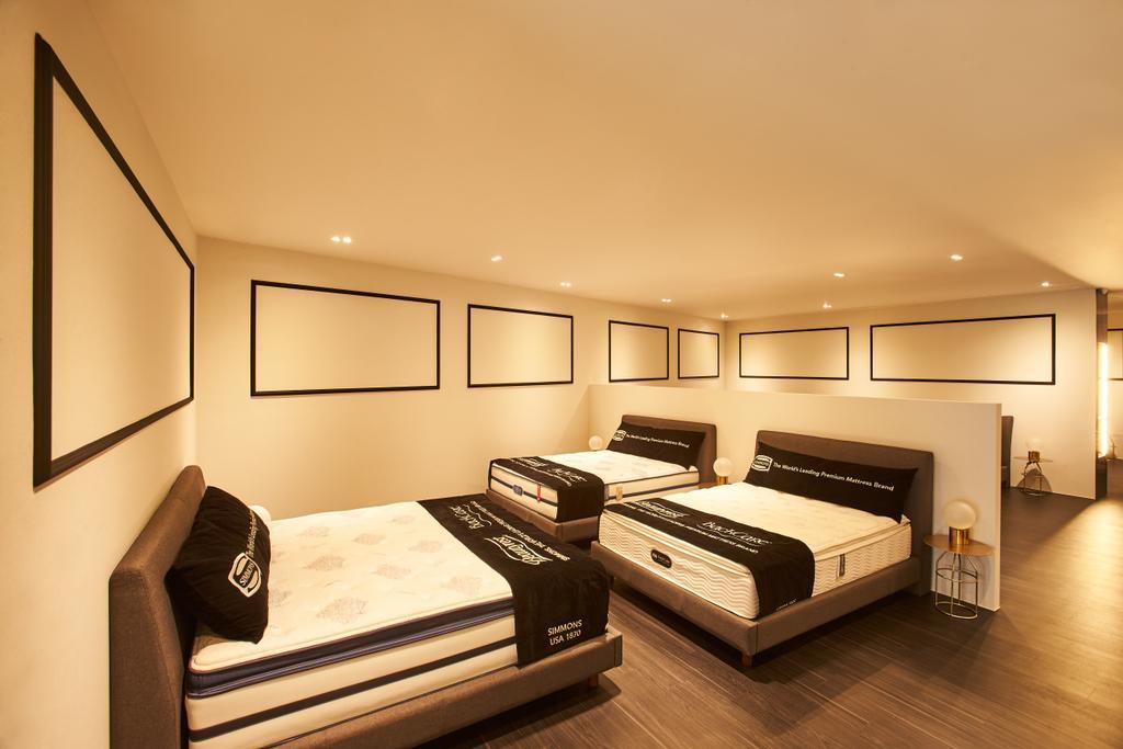 Simmons, Commercial, Interior Designer, Bowerman, Contemporary, Indoors, Interior Design, Bed, Furniture