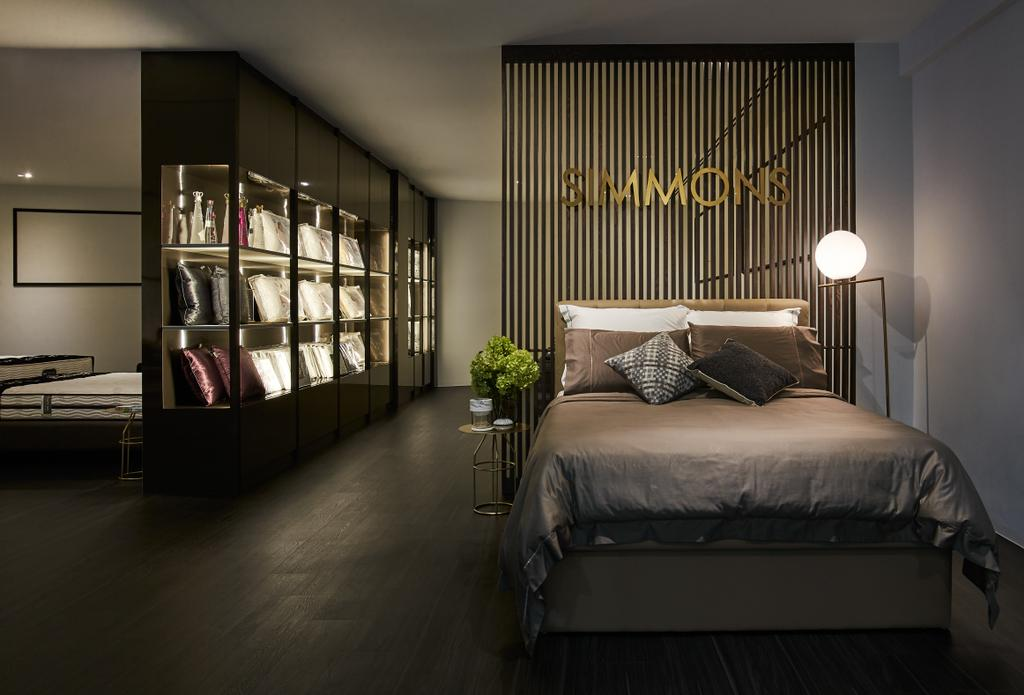 Simmons, Commercial, Interior Designer, Bowerman, Contemporary, Bed, Furniture