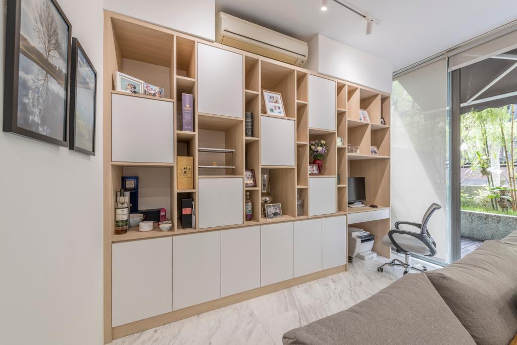 Scandinavian, Condo, Living Room, Watten Rise, Interior Designer, ARK-hitecture, Indoors, Interior Design