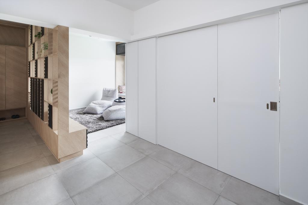 Minimalistic, HDB, Tampines GreenForest, Architect, asolidplan, Scandinavian, Flooring