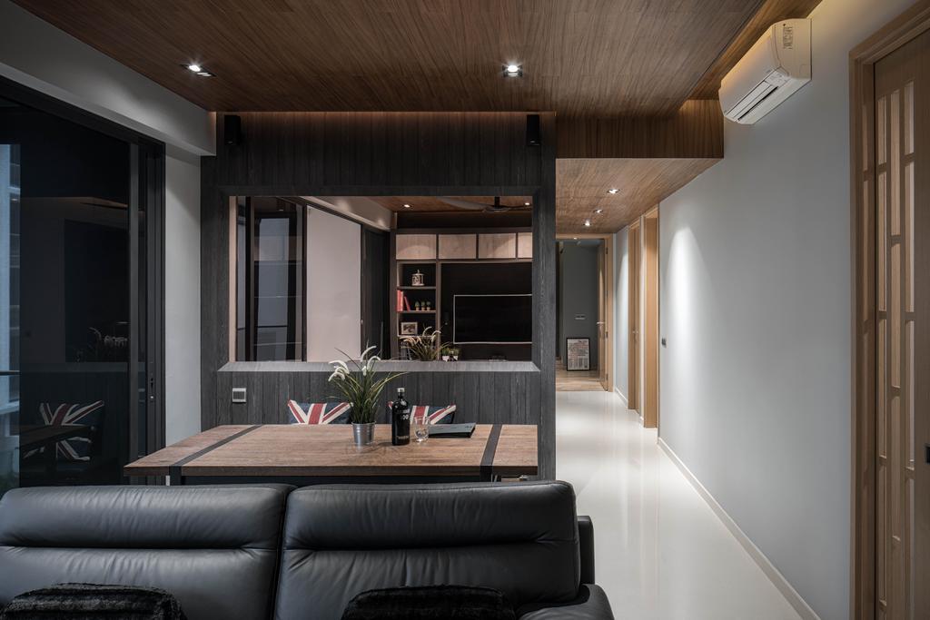 Modern, Condo, Dining Room, Bartley Residences, Interior Designer, Ethereall, Contemporary, Indoors, Interior Design