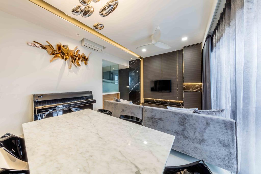 Modern, Condo, Jewel @ Buangkok, Interior Designer, Ciseern, Plywood, Wood