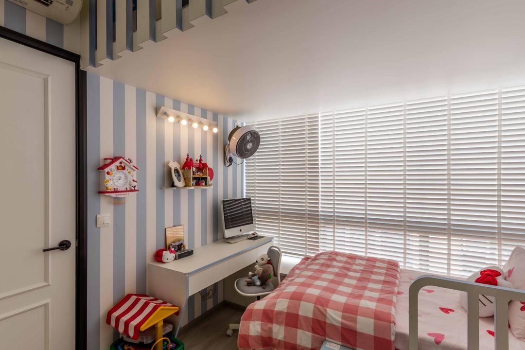 Kembangan Suites, Ciseern, Scandinavian, Bedroom, Condo, Asleep, Bathroom, Indoors, Interior Design, Room