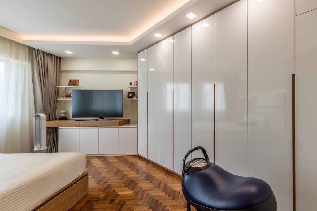 Contemporary, Condo, Bedroom, Melville Park, Interior Designer, Ciseern, Indoors, Interior Design, Clothing, Footwear, Shoe