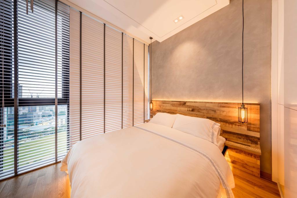 Modern, Condo, Bedroom, The Trilinq, Interior Designer, Ciseern, Industrial, Indoors, Interior Design, Room