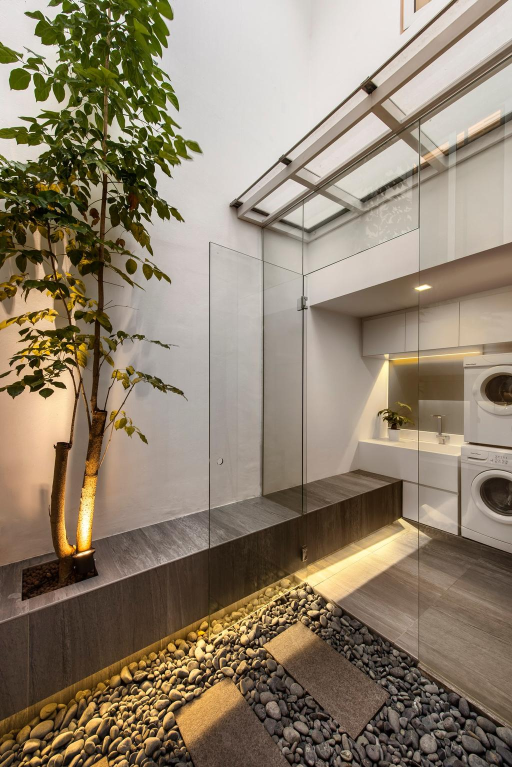 Modern, Landed, Kitchen, Mount Sinai Rise, Interior Designer, Ciseern, Bonsai, Flora, Jar, Plant, Potted Plant, Pottery, Tree, Vase, Indoors, Interior Design