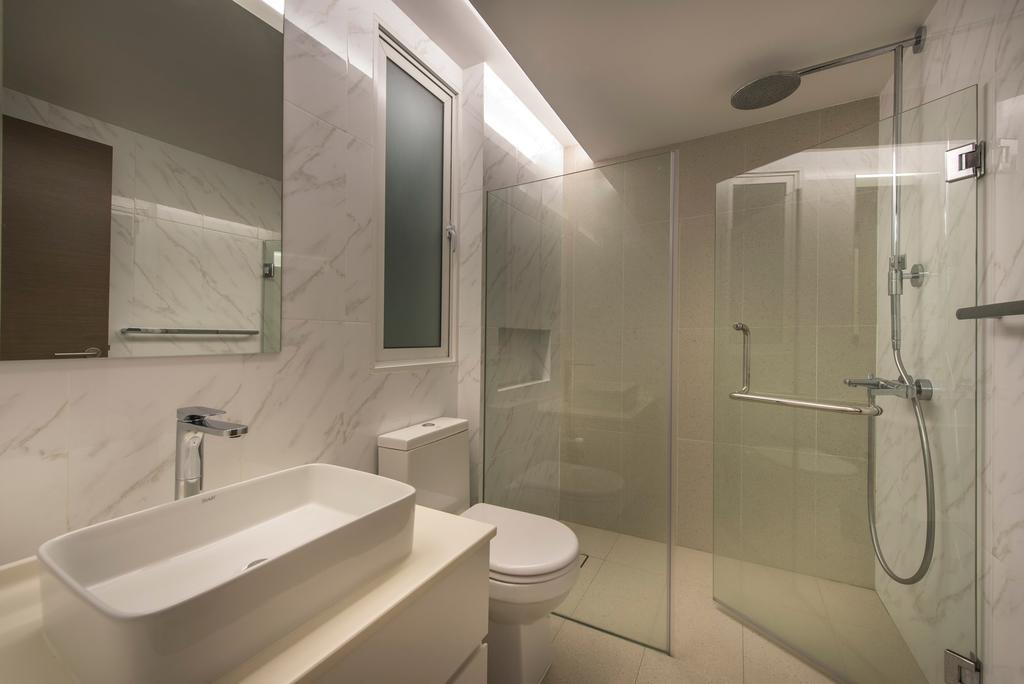 Modern, Landed, Bathroom, Mount Sinai Rise, Interior Designer, Ciseern, Indoors, Interior Design, Room, Shower