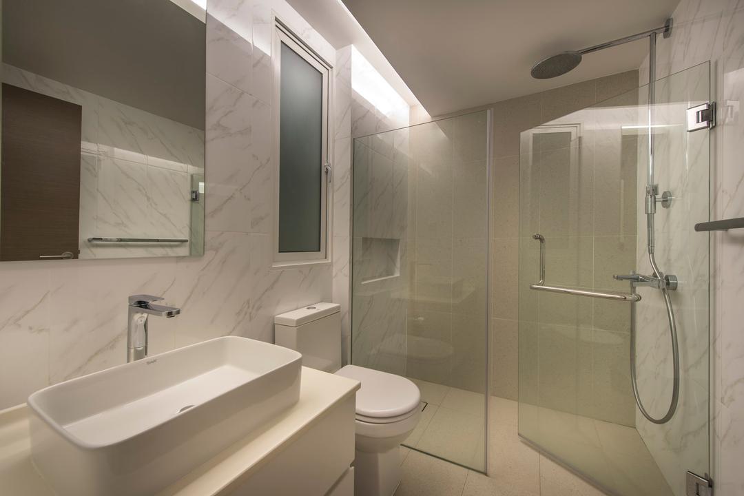Mount Sinai Rise, Ciseern, Modern, Bathroom, Landed, Indoors, Interior Design, Room, Shower