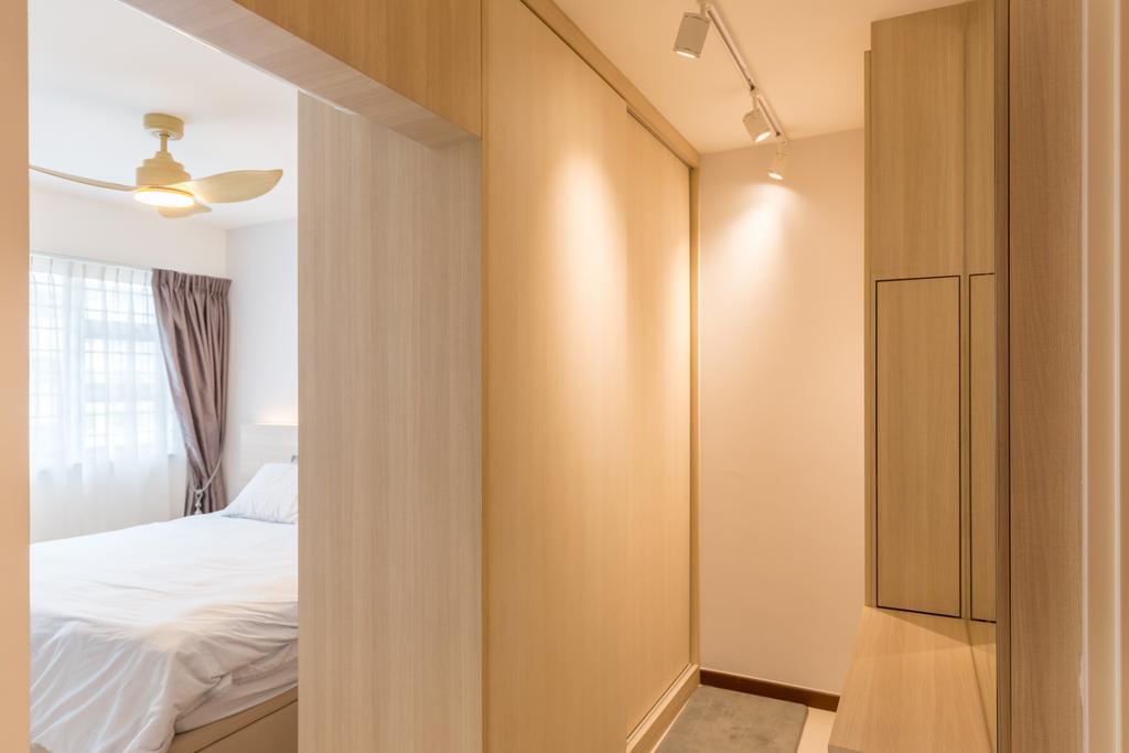 Modern, HDB, Sumang Lane, Interior Designer, D5 Studio Image, Curtain, Home Decor, Indoors, Interior Design, Bedroom, Room
