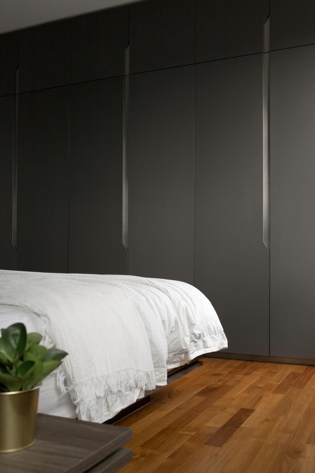 Minimalist, HDB, Bedroom, Ang Mo Kio Street 21, Interior Designer, The Scientist, Bed, Furniture