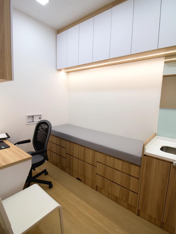 K2 Medical Clinic, Commercial, Interior Designer, Mink Design, Chair, Furniture, Sink