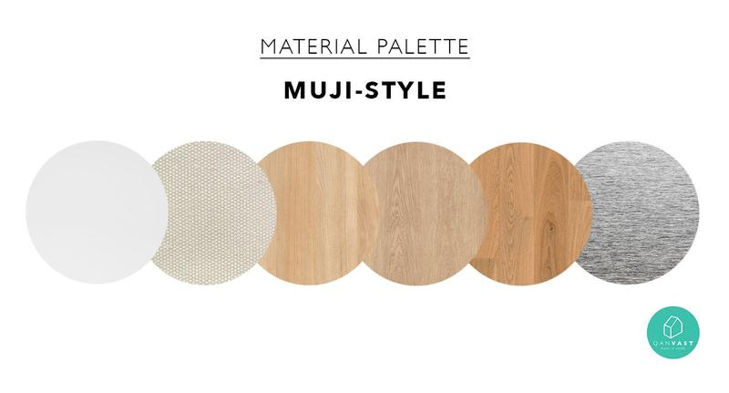 how to achieve a MUJI style home