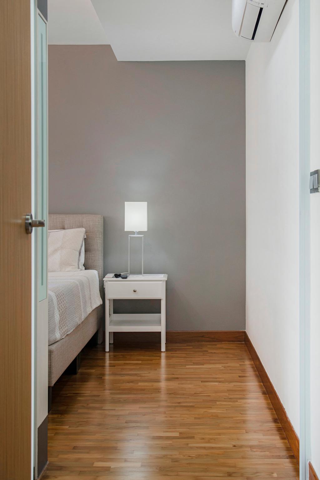 Scandinavian, HDB, Bedroom, Punggol Drive, Interior Designer, Cozy Ideas Interior Design, Indoors, Interior Design, Room, Building, Housing