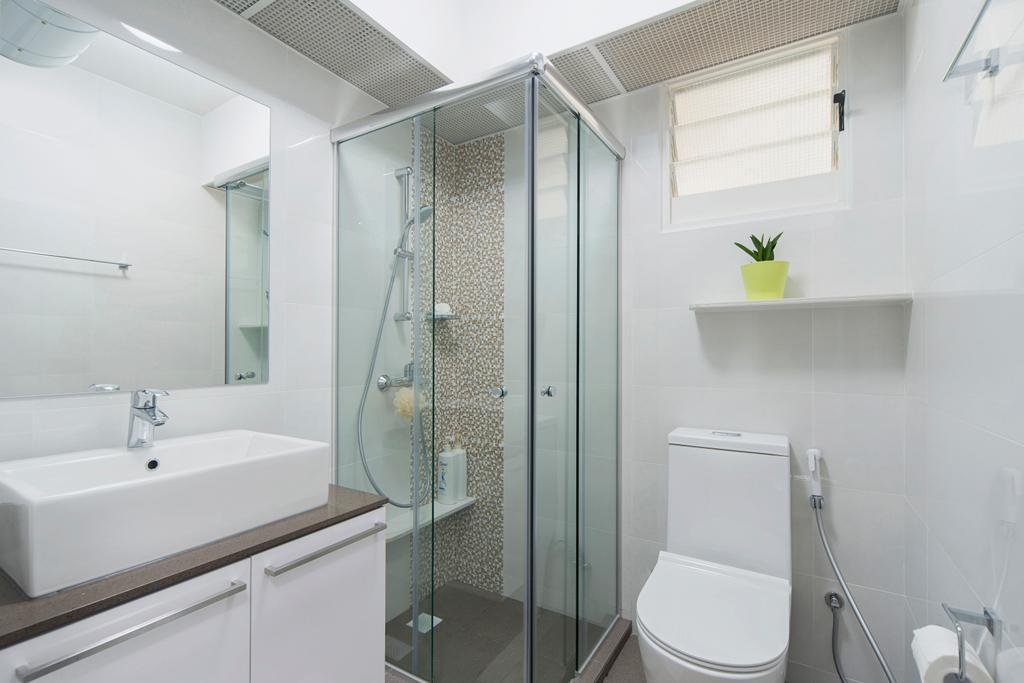 Scandinavian, HDB, Bathroom, Punggol Drive, Interior Designer, Cozy Ideas Interior Design, Indoors, Interior Design, Room, Toilet