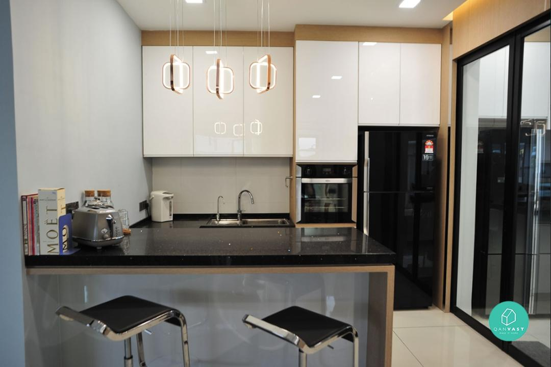 Wet and dry kitchen ideas Malaysia