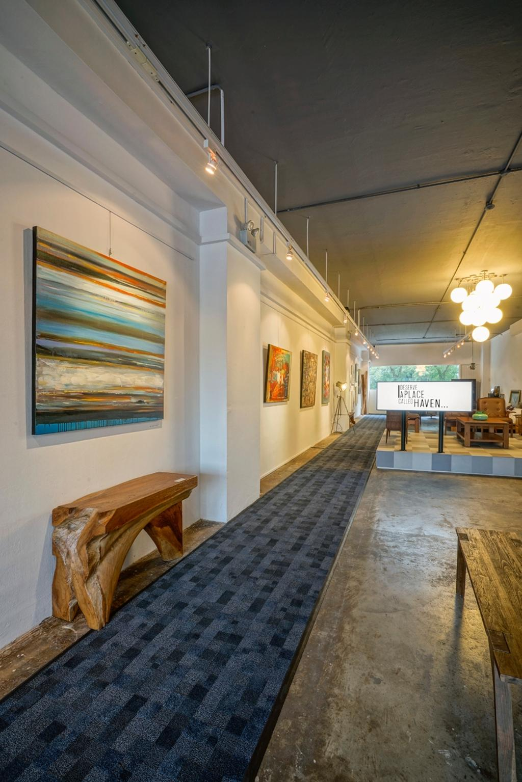 Journey East Showroom, Commercial, Architect, 7 Interior Architecture, Industrial, Flooring