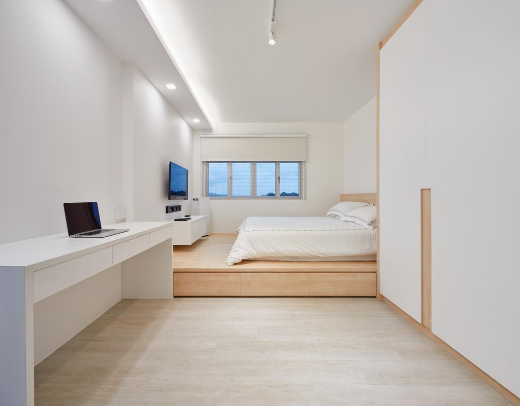 Minimalist, HDB, Bedroom, Keat Hong Pride, Interior Designer, Absolook Interior Design, Indoors, Interior Design, Room