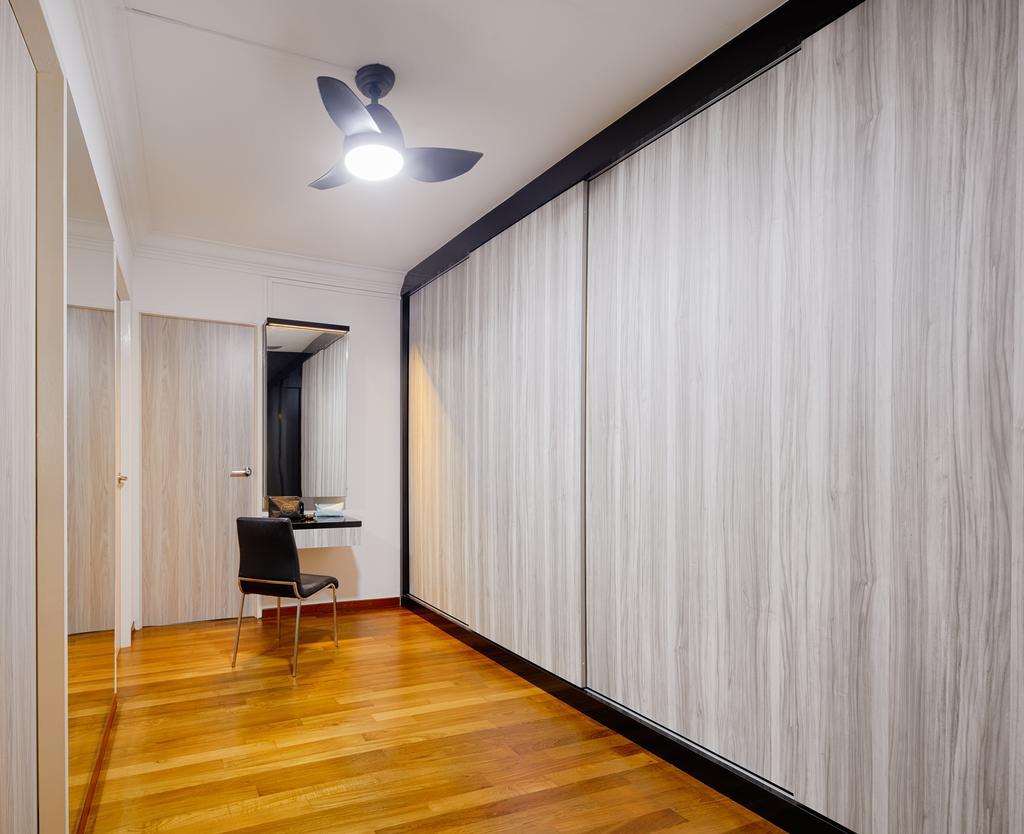 Industrial, HDB, Bedok South Avenue 2, Interior Designer, Absolook Interior Design, Flooring