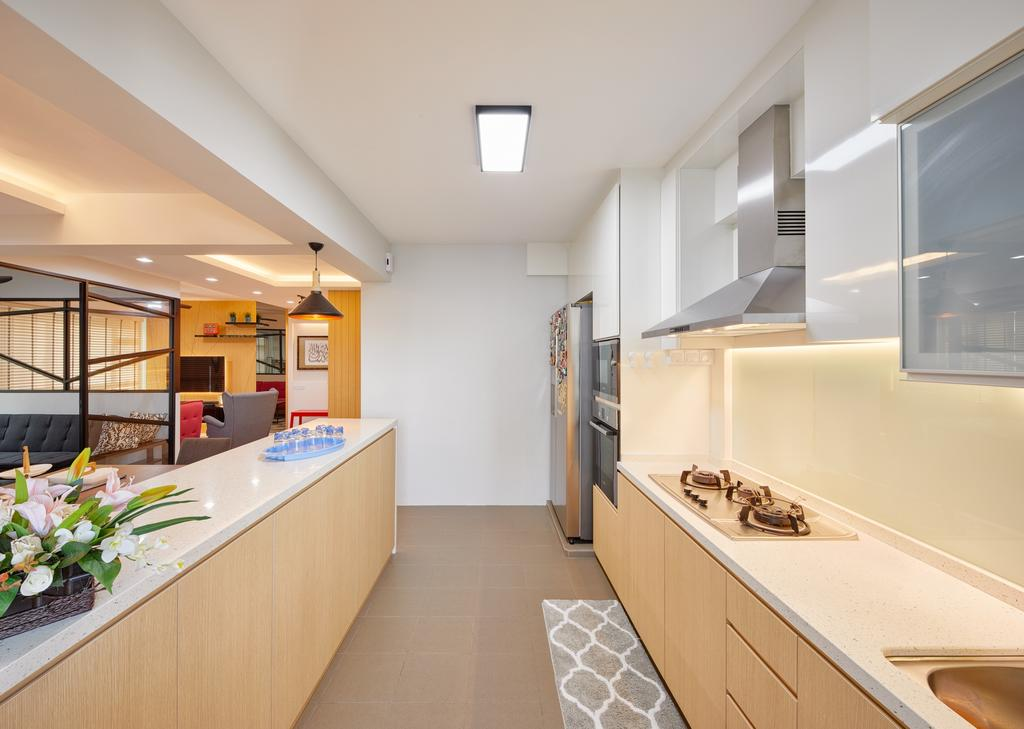 Contemporary, HDB, Boon Lay View, Interior Designer, Absolook Interior Design, Indoors, Interior Design, Flora, Jar, Plant, Potted Plant, Pottery, Vase
