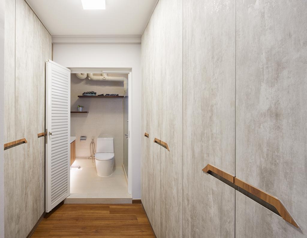 Minimalist, HDB, Bathroom, Choa Chu Kang Crescent, Interior Designer, Absolook Interior Design, Indoors, Interior Design