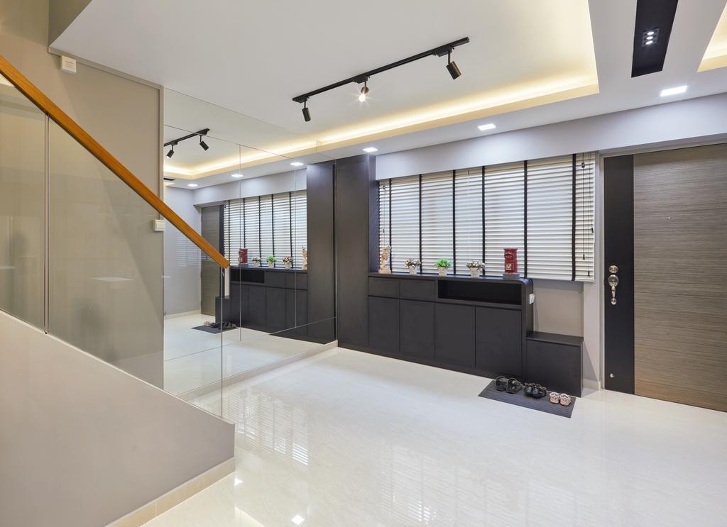 Modern, HDB, Tampines Palmspring, Interior Designer, Absolook Interior Design, Contemporary